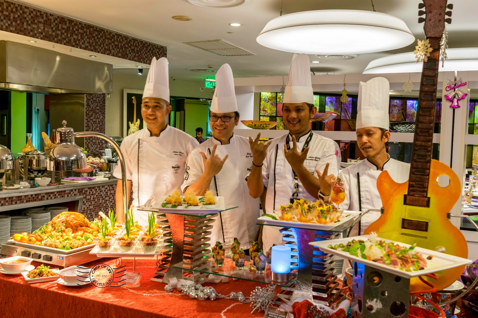 Christmas and New Year Buffet @ Starz Diner, Hard Rock Hotel Penang, Batu Ferringhi, Penang