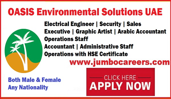 Latest UAE jobs for Indians, OES free direct recruitment jobs for technical and non technical staffs,