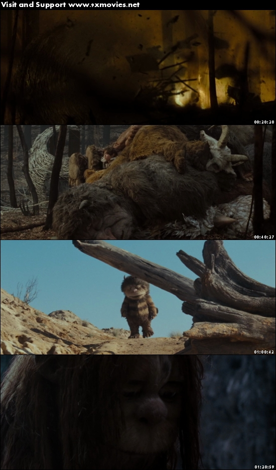Where the Wild Things Are 2009 English 480p BRRip