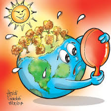 Contoh Sederhana Akibat Global Warming