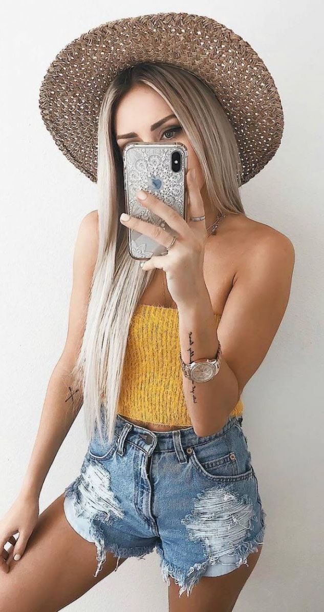 Cute Summer Outfits To Try #SummerOutfits