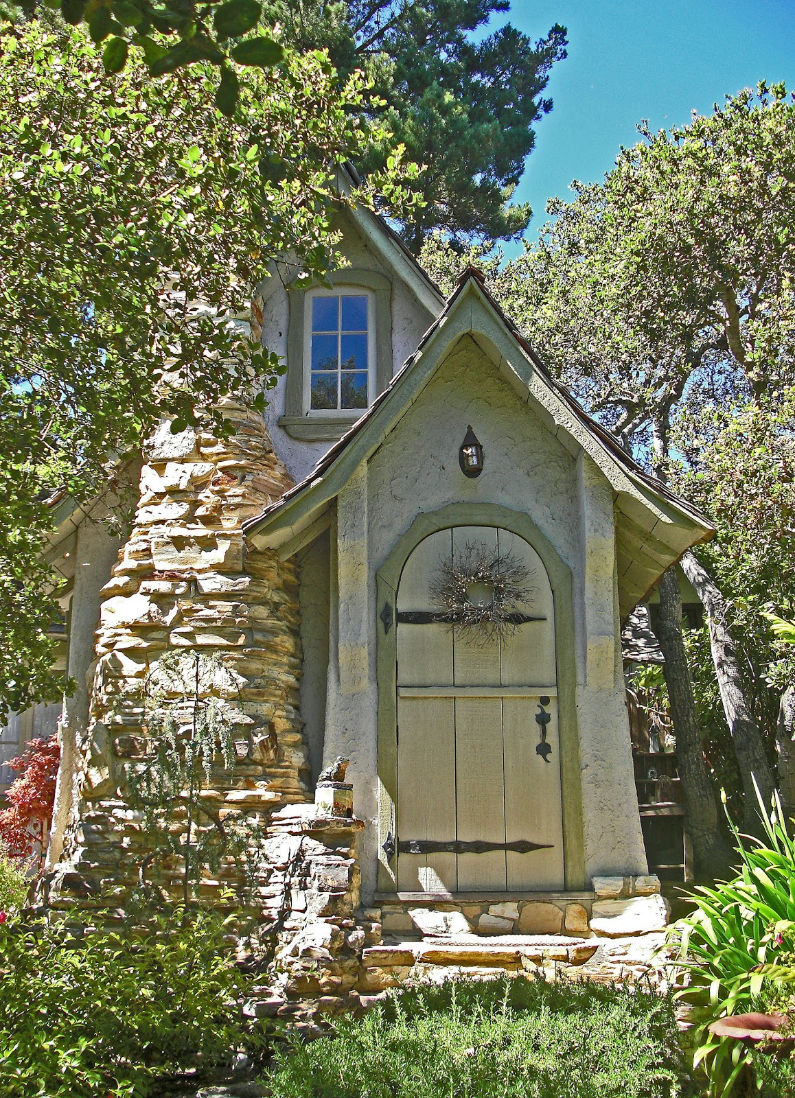 Fairy Tale Cottages of Hugh Comstock Hansel and Gretel – Carmel Cottage House Plans