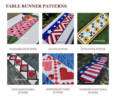 pattern page at QuiltFabrication