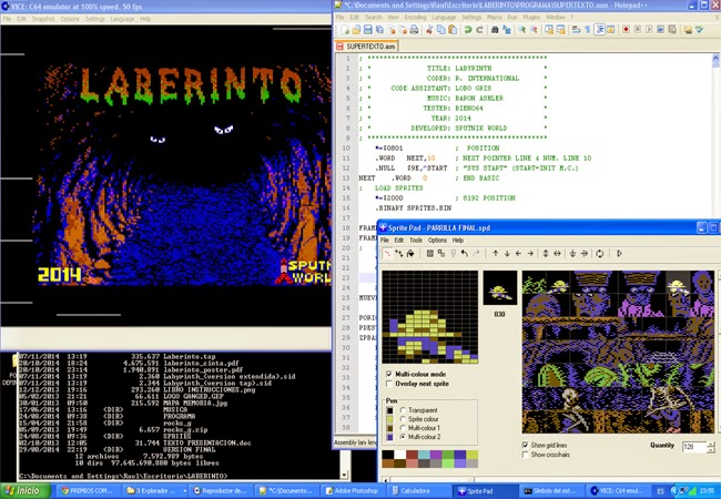 Ensamblando en C64