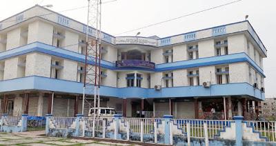 Passport Seva Laghu Kendra's building near Siliguri