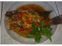 Resep Masakan Ikan Mujair Asam Pedas