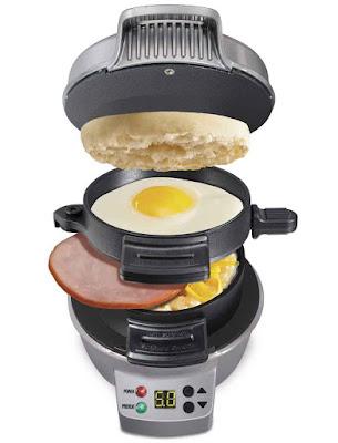 Breakfast Sandwich Maker with Timer