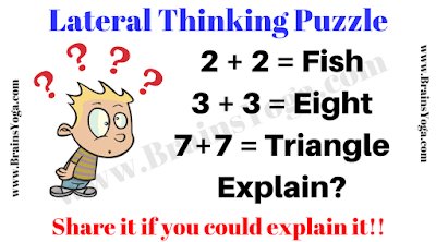 Lateral Thinking Picture Puzzle