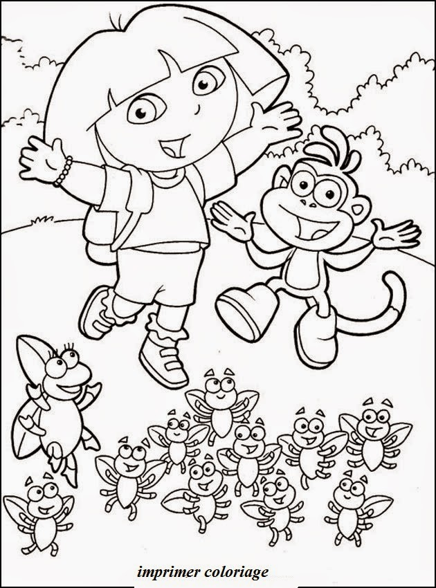 Jeux De Coloriage Dora Gratuit Liberate