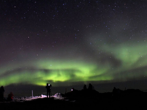 Iceland: The Northern lights