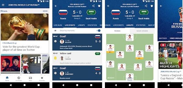 2018 FIFA World Cup Russia Official App ScreenShoot Logo
