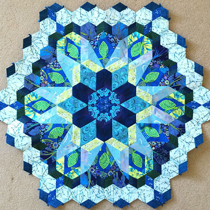 Hexagon Millefiore Quilt-Along