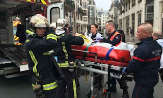 Atentado terrorista na França deixa um ferido até o momento