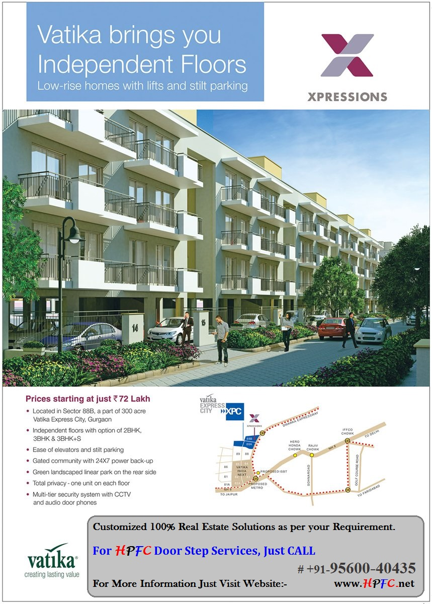 Vatika Xpressions Floors in Vatika Express City, Sector-88B, Gurugram