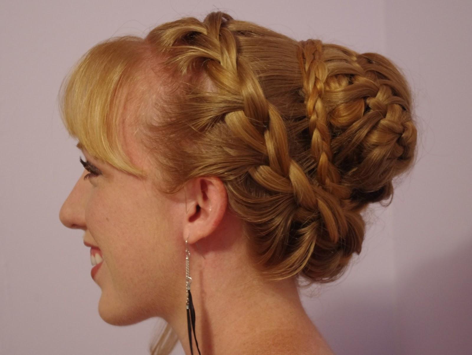 Braids & Hairstyles For Super Long Hair: Fancy Braided Bun