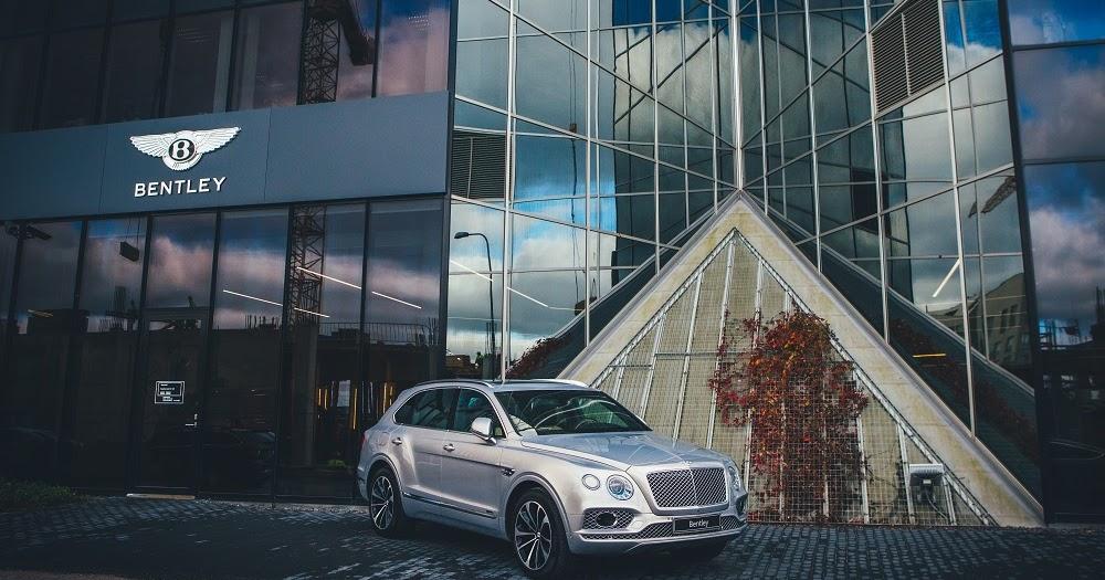 Bentley opens showroom in Tallinn, Estonia