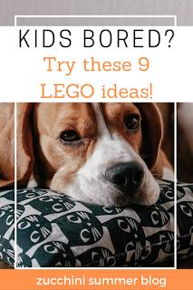 Inside fun for kids using legos!