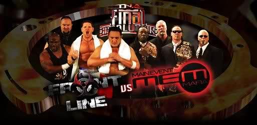 TNA Final Resolution 2008 - TNA Front Line vs. Main Event Mafia