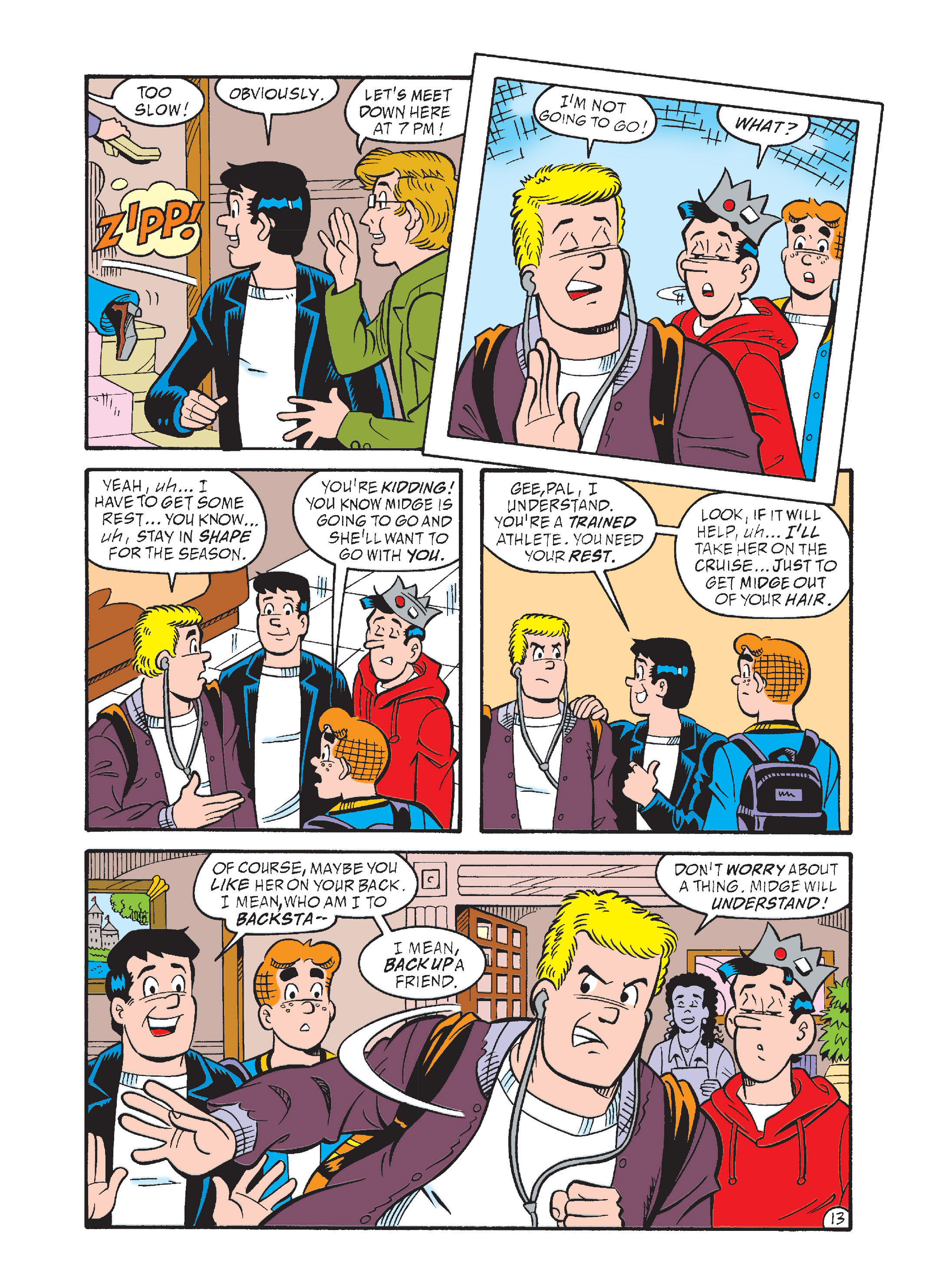 Read online Archie's Funhouse Double Digest comic -  Issue #1 - 48