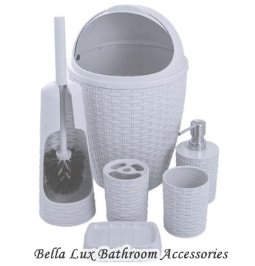 Bella lux bathroom accessories ideas hometiens for Bella lux bathroom accessories uk