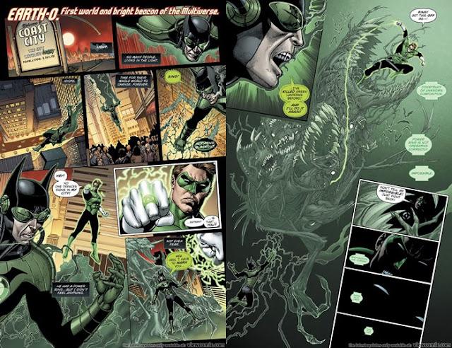 siapa The Dawnbreaker adalah Batman Menggunakan Cincin Grenn Lantern