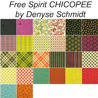 Free Spirit CHICOPEE Quilt Fabric by Denyse Schmidt