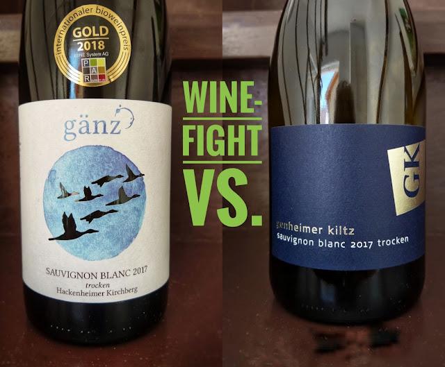 Sauvignon blanc Wine-Fight Rheinhessen vs. Nahe