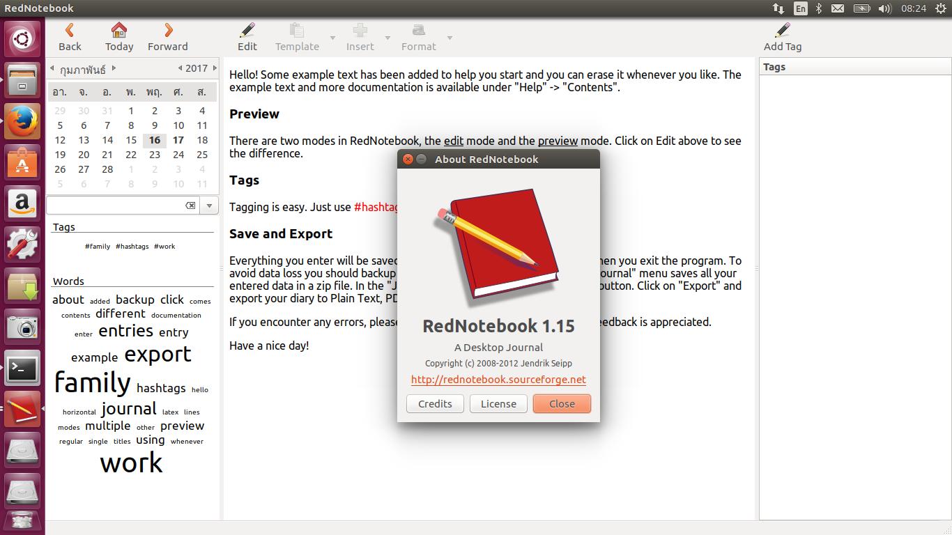 foto de How to install program on Ubuntu: How To Install Rednotebook 1.15 ...