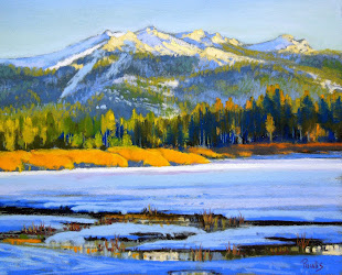 Winter Evening, Upper Truckee Marsh