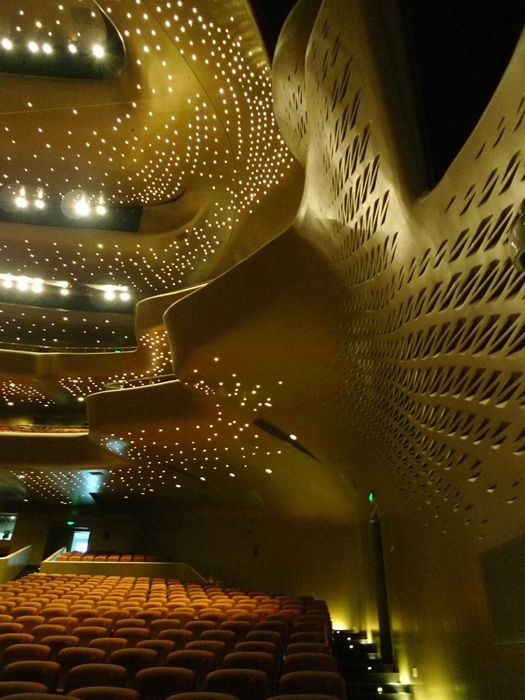 Arts Wise Zaha Hadid sings Guangzhou Opera House