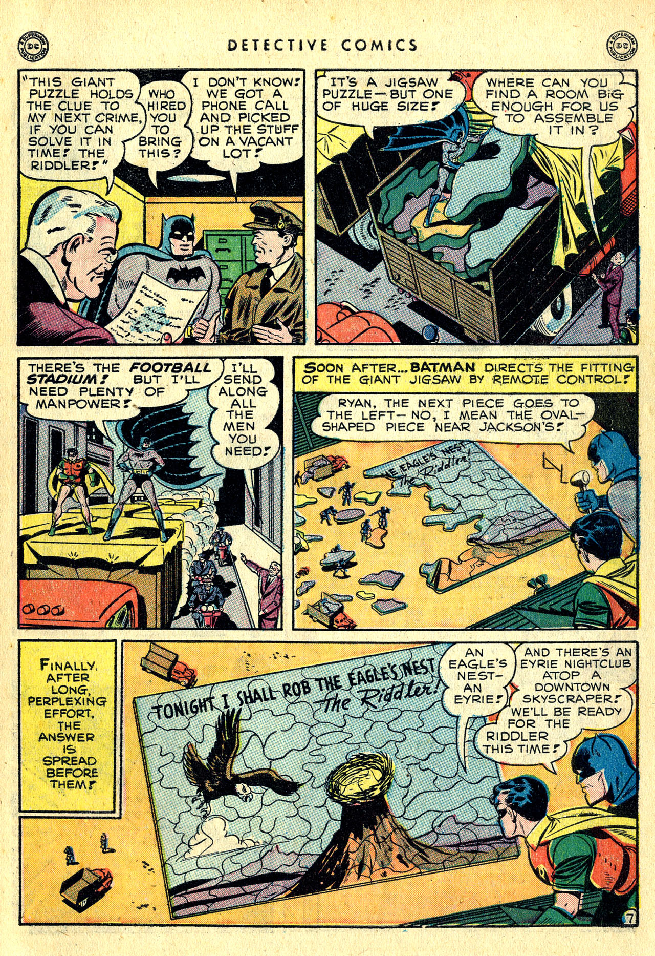 Read online Detective Comics (1937) comic -  Issue #140 - 9