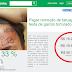 """O adolescente que teve a frase """"eu sou ladrão e vacilão"""" tatuado na testa arrecada bolada na internet"""