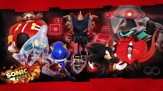 Sonic Forces PS4 Wallpaper