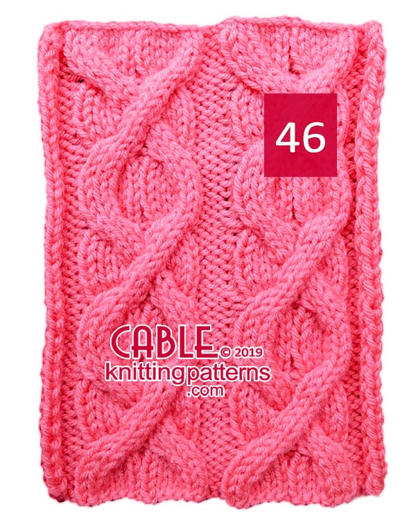 Cable Knitting Pattern 46