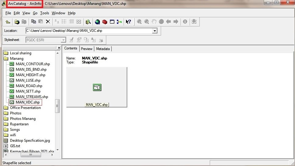 Adding new attributes in GIS file  • ICT for Local Governance in