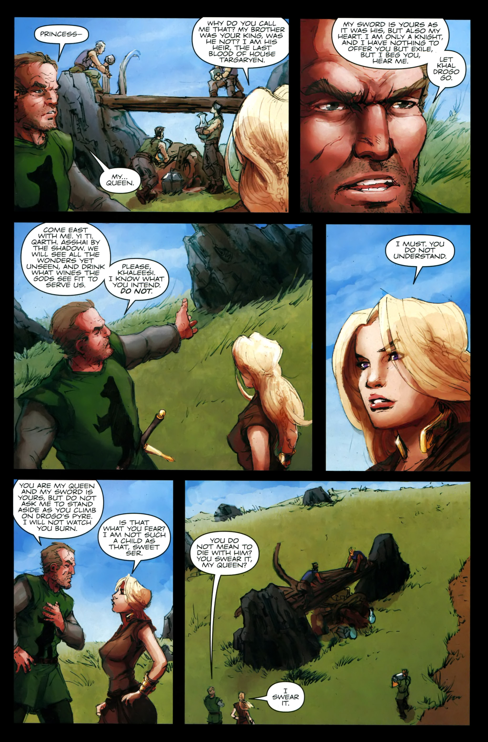Read online A Game Of Thrones comic -  Issue #24 - 23
