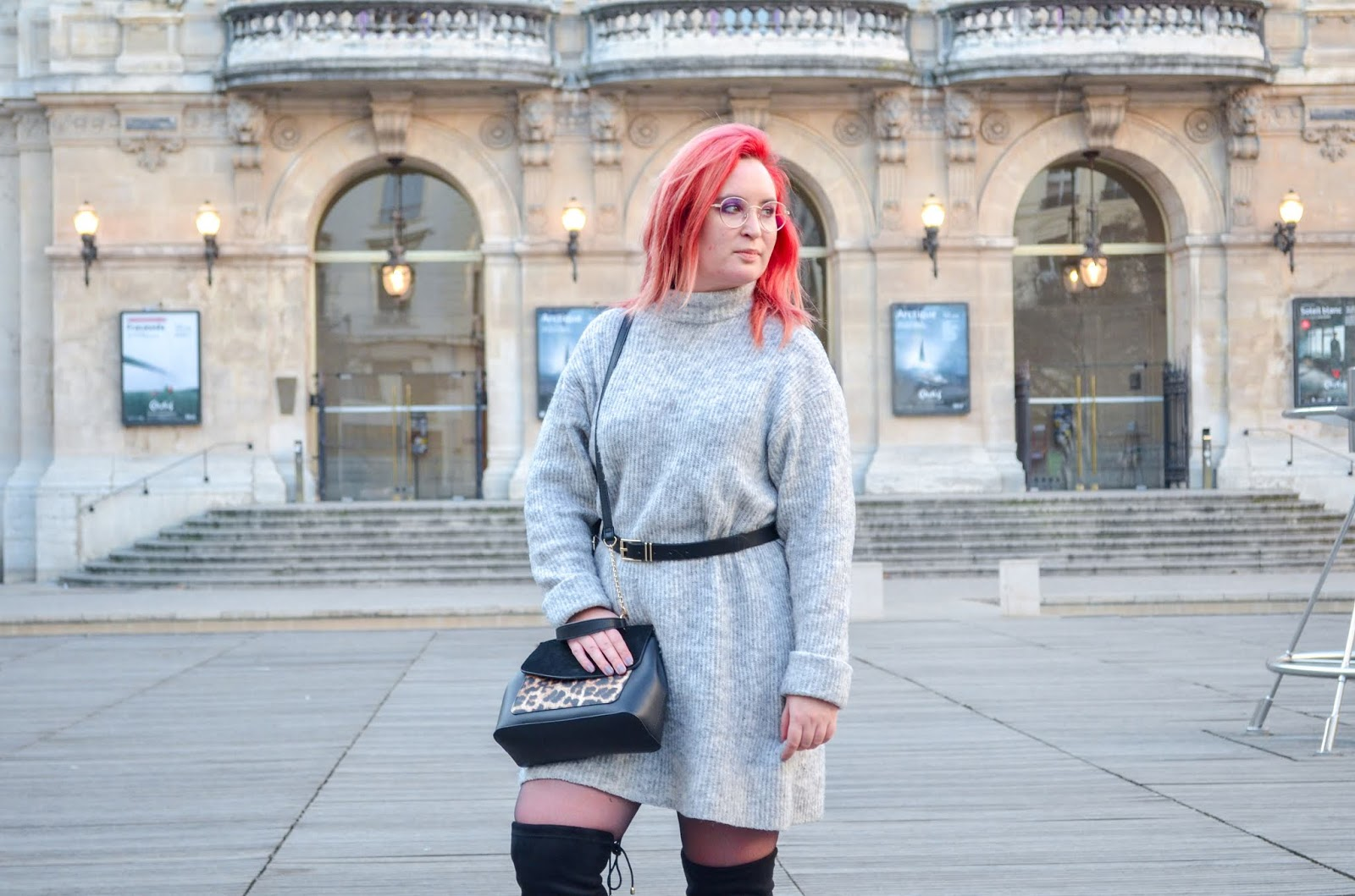 look robe pull cuissardes blog mode lyon