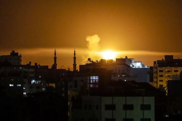 Israel Gempur Gaza Setelah Paramedis Palestina Tewas Ditembak