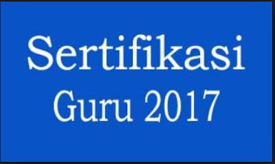 Ada 2 Kategori Peserta Sertifikasi Guru Tahun 2017
