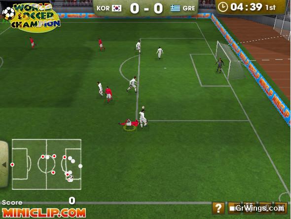Jogar futebol on line