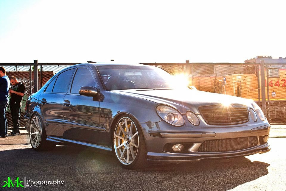 mercedes benz e63 amg w211 on koko kuture lindos machined. Black Bedroom Furniture Sets. Home Design Ideas