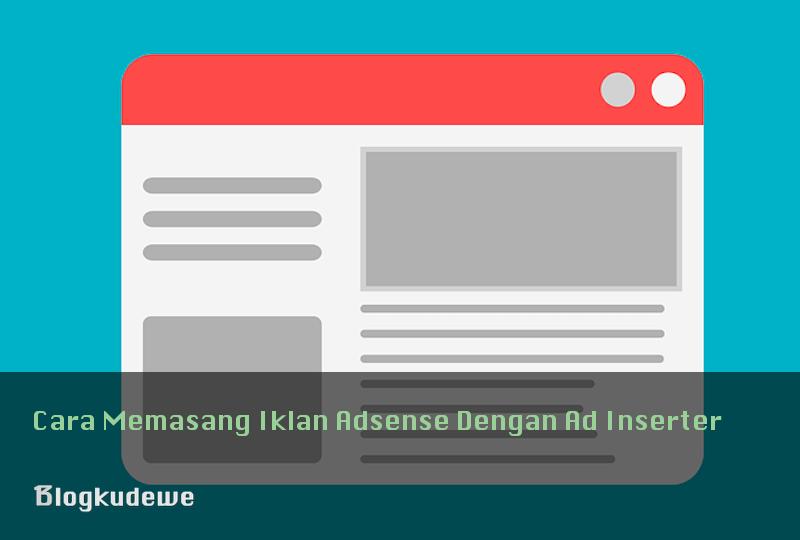 memasang iklan adsense di blog WordPress