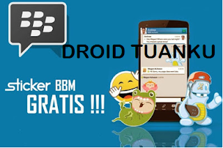 BBM Free Sticker Android - Droid Tuanku