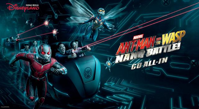 ANT-MAN AND THE WASP : NANO BATTLE ! TARIKAN TERBARU DI DISNEYLAND HONG KONG