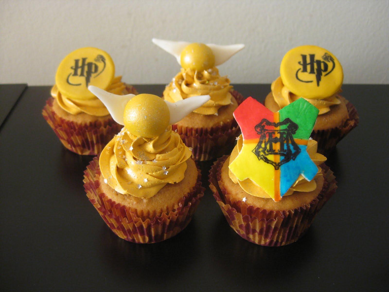 Cupcake Decorating Ideas Harry Potter