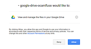 How to Mount your Google Drive in Ubuntu