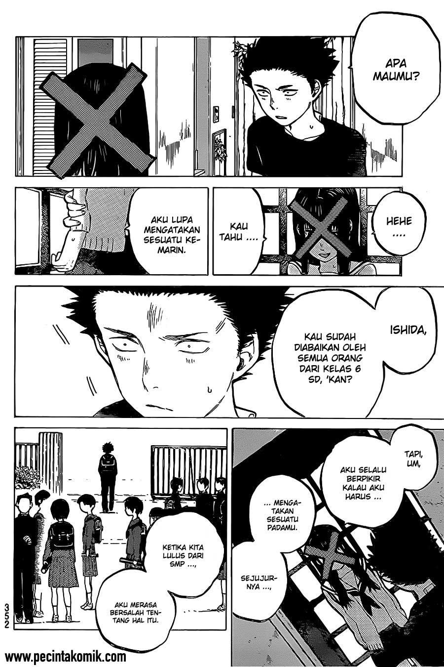 Koe no Katachi Chapter 22-7