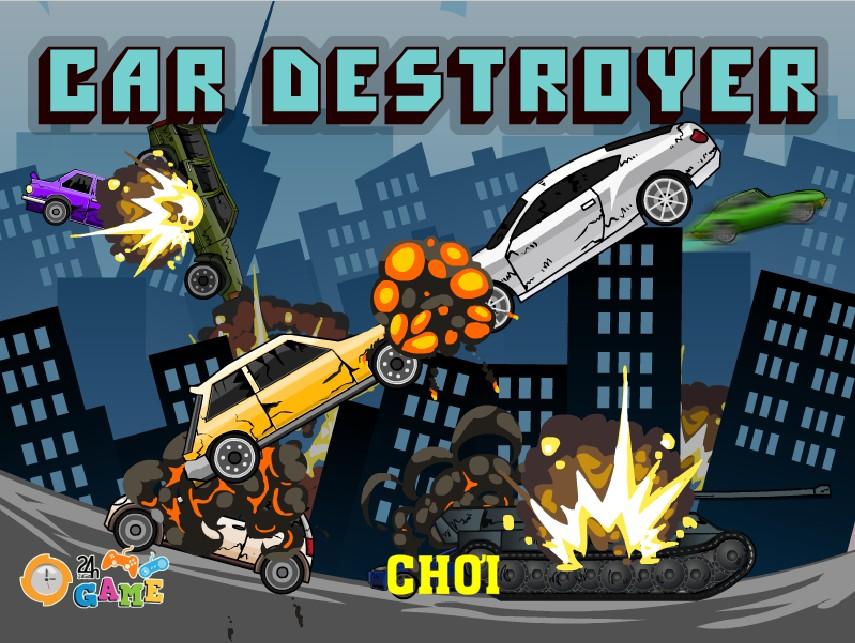 Đại chiến ô tô đập phá