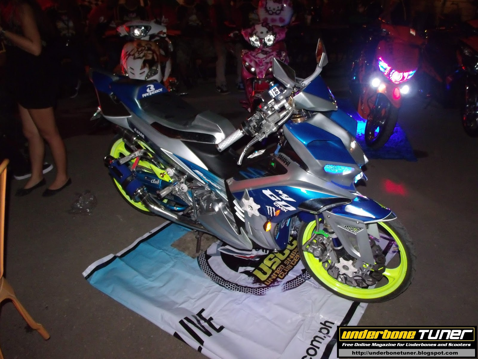 underbone tuner: Yamaha Club Grand Eyeball Cebu - Gallery 2