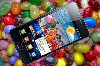 GALAXY S II CON JELLY BEAN